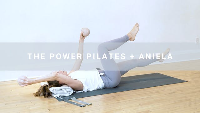 The Power Pilates + Aniela (39 min)