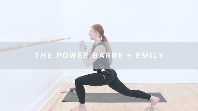 The Power Bar + Emily (47 min)