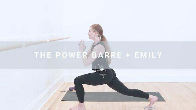 The Power Bar + Emily (47 min)