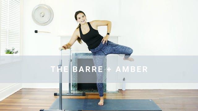 The Barre + Amber (20 min)