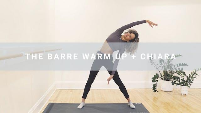 The Barre Warm Up + Chiara (8 min)