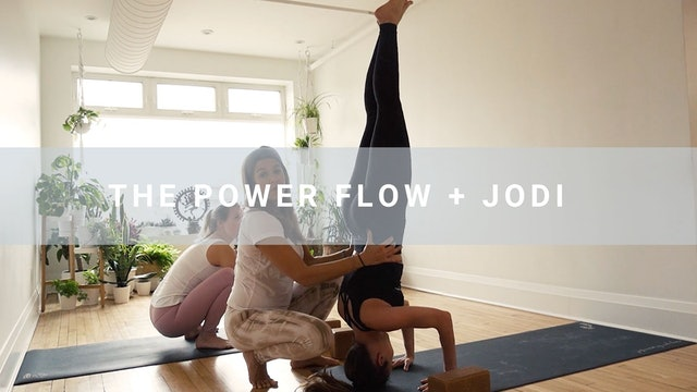 The Power Flow + Jodi (60 min)