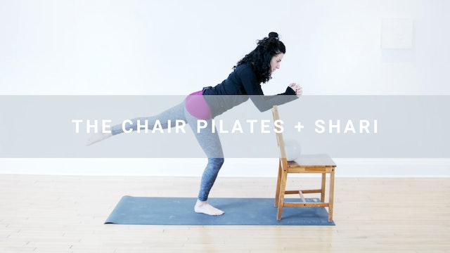 The Chair Pilates + Shari (26 min)