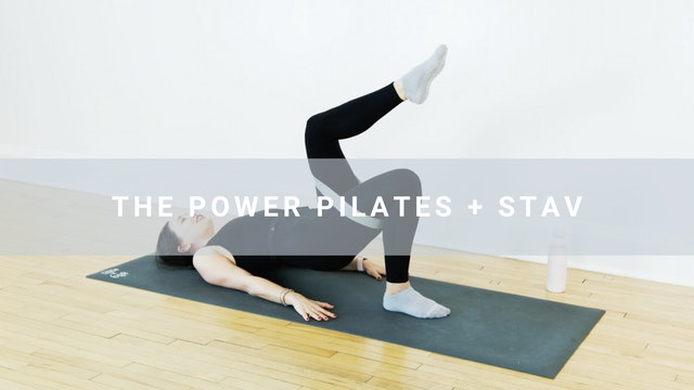 The Power Pilates + Stav (30 min)