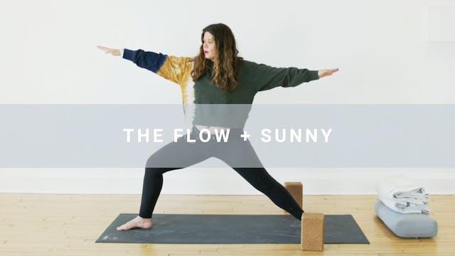 The Flow + Sunny (40 min)
