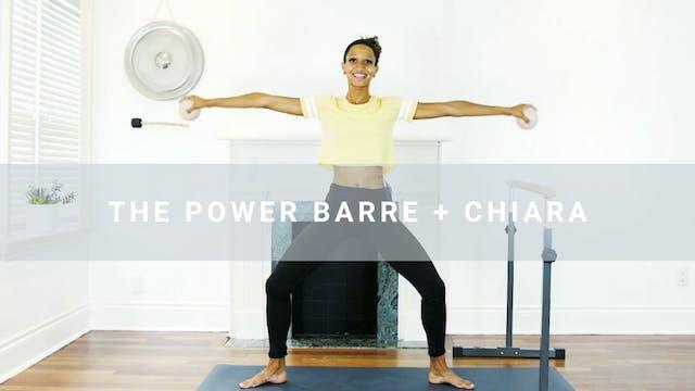 The Power Barre + Chiara (39 min)