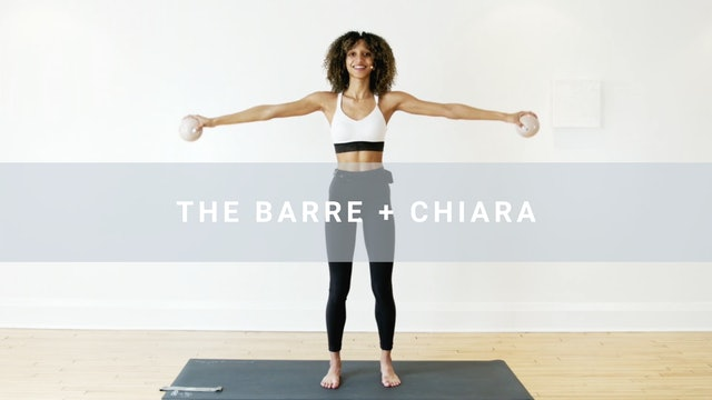 The Barre + Chiara (30 min)