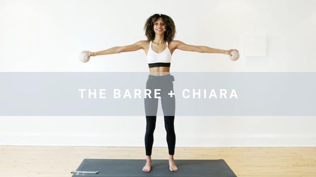 The Barre + Chiara (30 min)