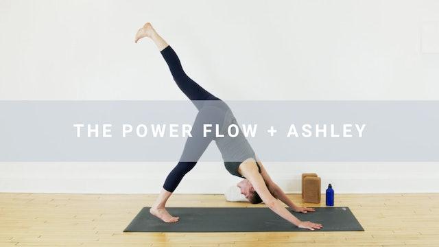 NAME CHANGE The Power Flow + Ashley (60 min)