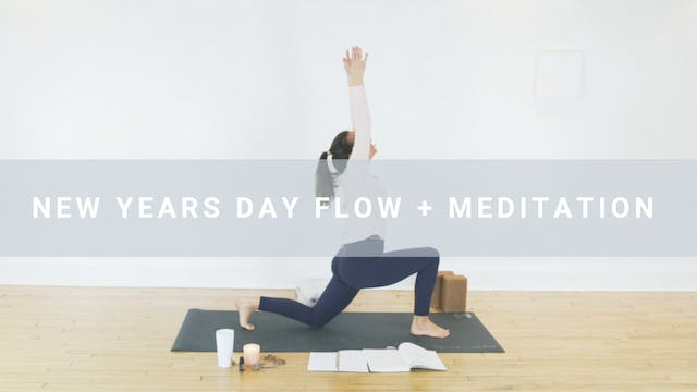 New Years Flow + Meditation with Michelle Karkic