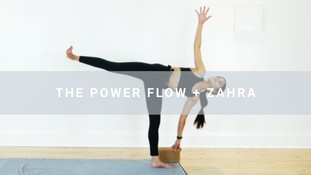 The Power Flow + Zahra (31 min)