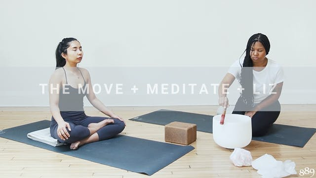 The Move + Meditate + Liz (60 min)