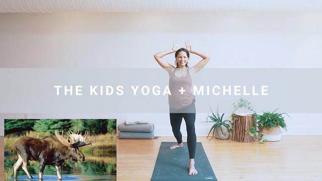 The Kids Yoga + Michelle (37 min)