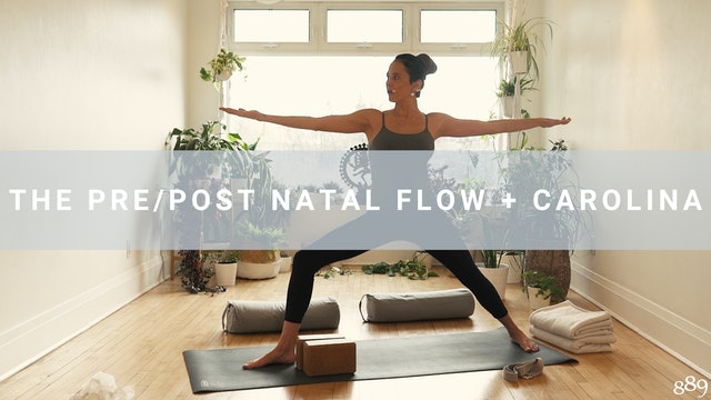 The Pre/Post Natal Flow + Carolina (26 min)