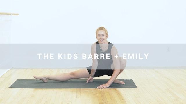 The Kids Barre Class + Emily (25 min)
