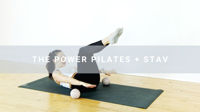The Power Pilates + Stav (23 min)