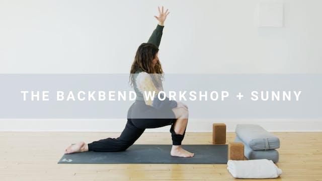 The Backbend Workshop + Sunny (57 min)