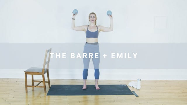 The Barre + Emily (60 min)