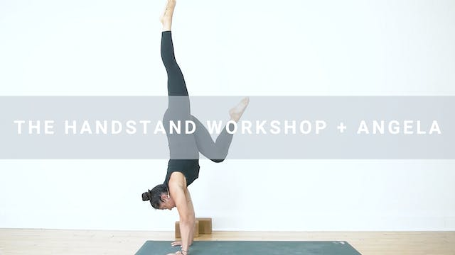 The Hand Stand Workshop + Angela (53 ...
