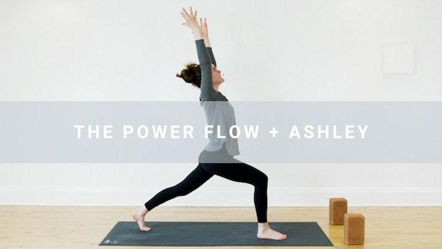 NAME CHANGE The Power Flow + Ashley (30 min)