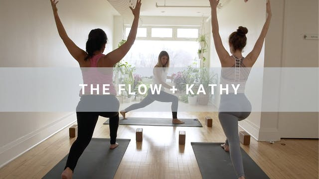 The Flow + Kathy Parsons (60 min)