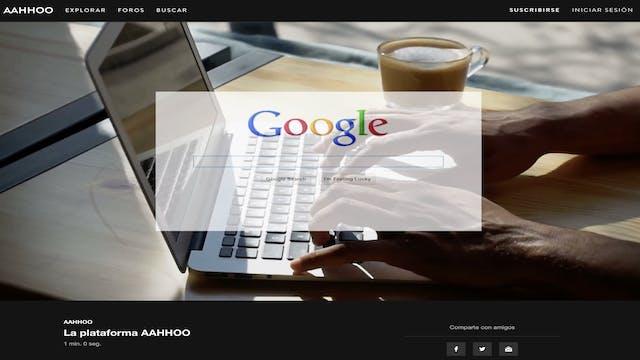 La plataforma AAHHOO