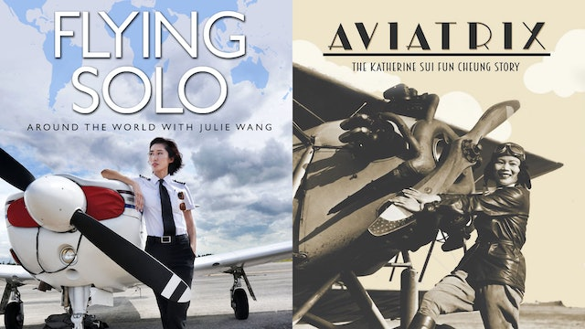 Aviatrix & Flying Solo: Two by Ed Moy