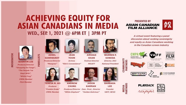 Achieving Equity for Asian Canadians in Media