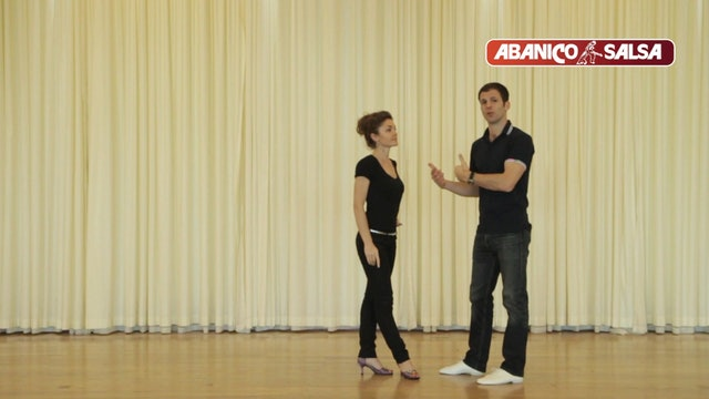 004 - Salsa On1 - Beginner level - Changing from one step to another