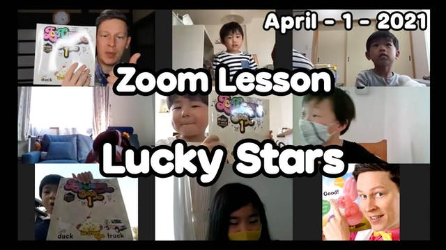 Zoom Lesson Lucky Stars April 1 2021