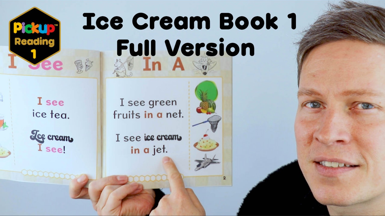 Pickup Reading Ice Cream Book 1