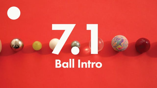 7.1 Ball intro