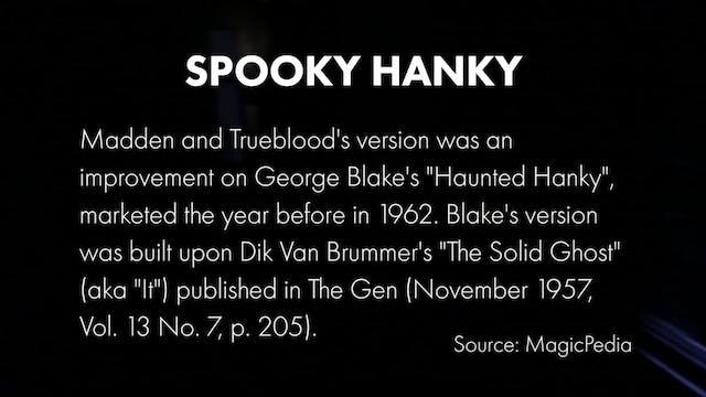 Credits- Spooky Hanky