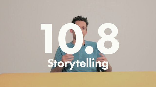 10.8 Performance storytelling