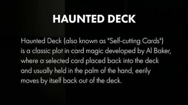 Credits - Haunted Deck