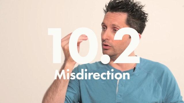 10.2 Performance misdirection