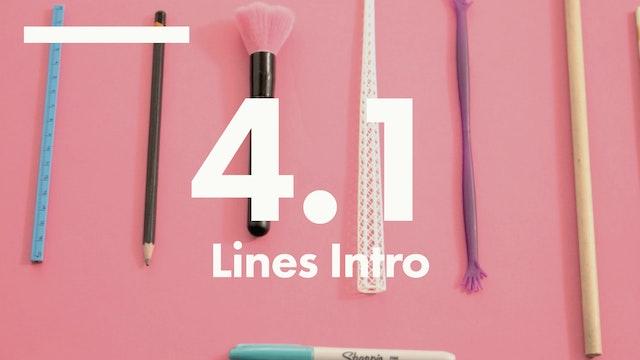 4.1 Lines intro