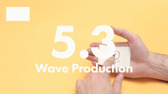 5.3 2D rectangles wave production