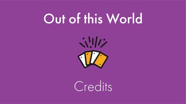 Out of this World Credits