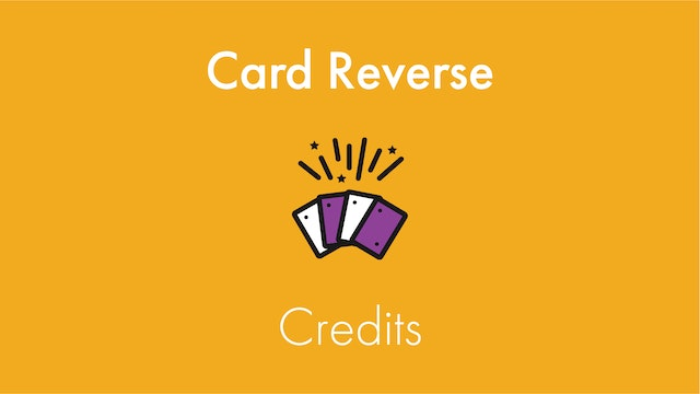 Card Reverse Credits