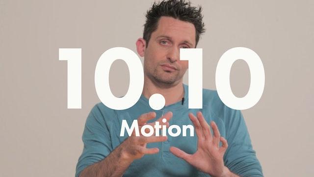 10.10 Performance motion