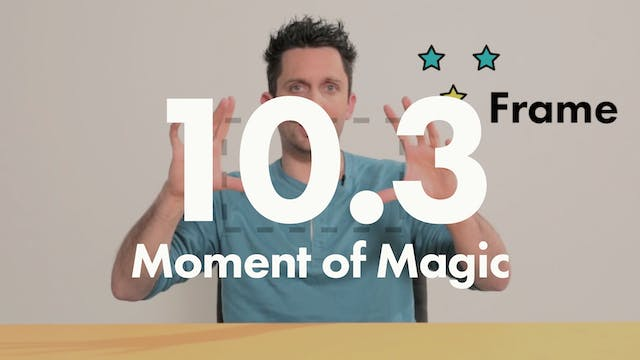 10.3 Performance Moment of magic