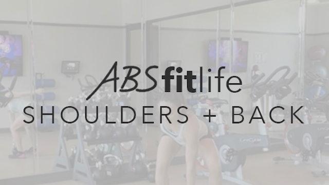 Shoulder and Back Dumbbell Workout