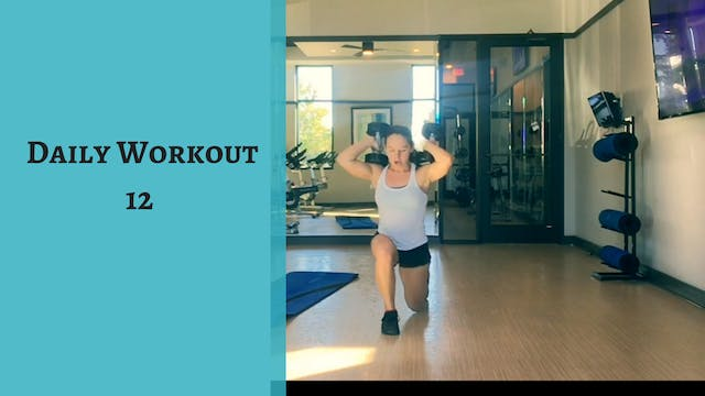 Daily Workout 12