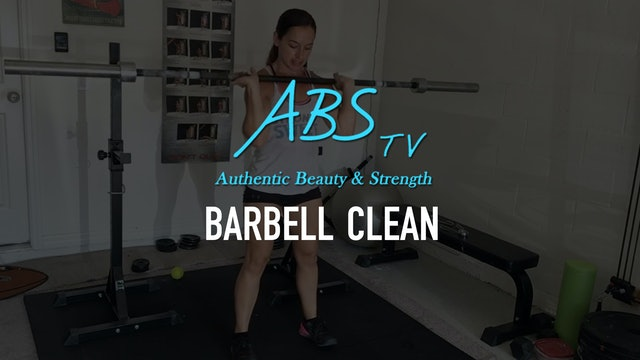 Barbell Clean