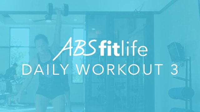 Daily Workout 3