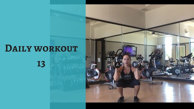 Daily Workout 13