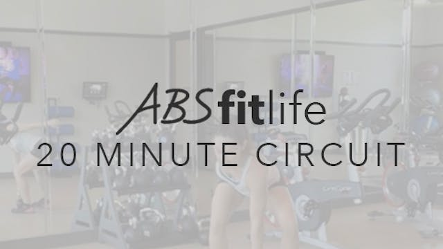 20 Minute Total Body Circuit-Thruster...