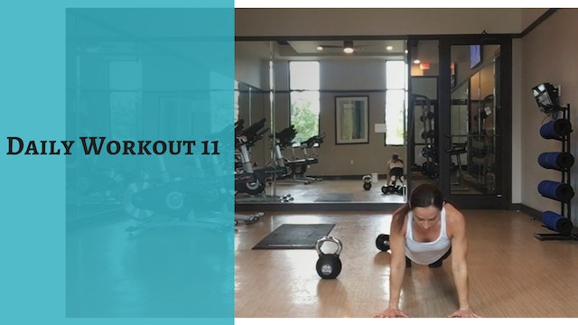 Daily Workout 11