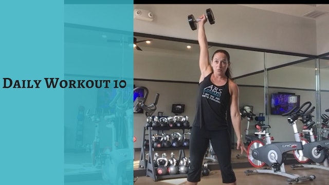 Daily Workout 10 ABS Fit Life TV